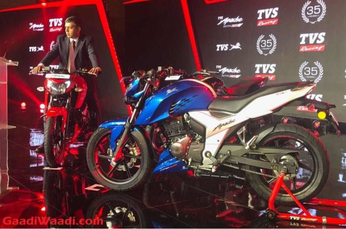2018 TVS Apache RTR160 Launched In India - Price, Engine, Specs, Mileage, Features