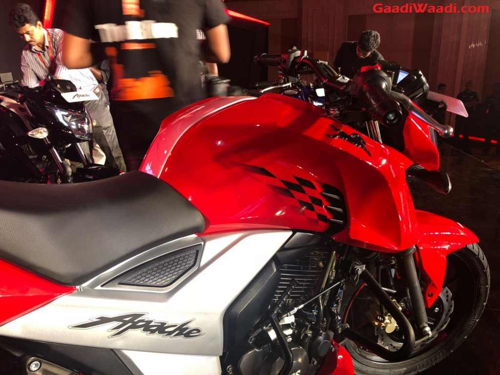 2018 Tvs Apache Rtr160 4v Launched In India Price Specs