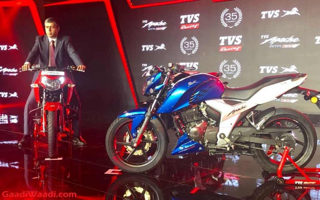 2018 TVS Apache RTR160 Launched In India - Price, Engine, Specs, Mileage, Features, Booking, Top Speed, Design, Tyre, Brake