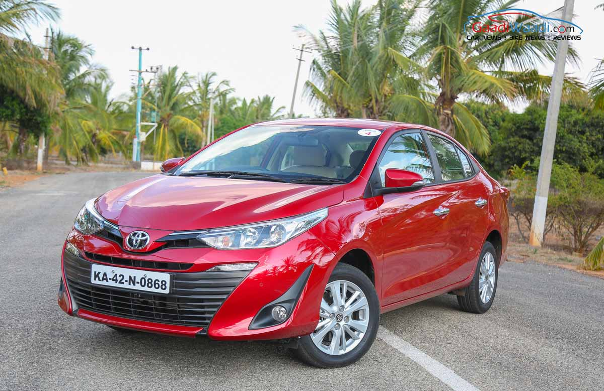 Toyota Yaris launched at Rs. 8.75lakhs