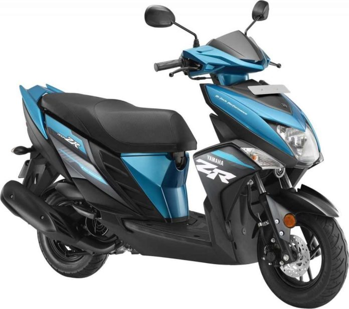 2018 Yamaha Cygnus Ray-ZR Gets Four New Colours India 1