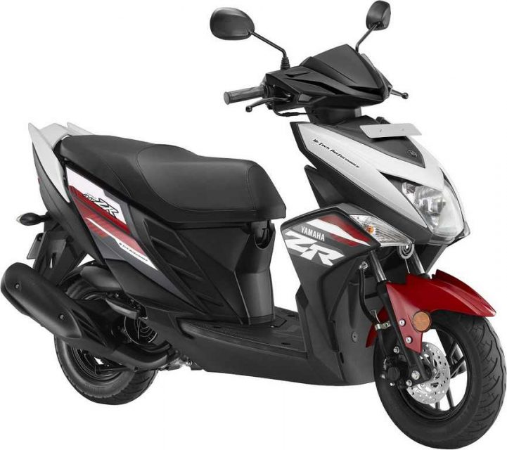 2018 Yamaha Cygnus Ray-ZR Gets Four New Colours India 2