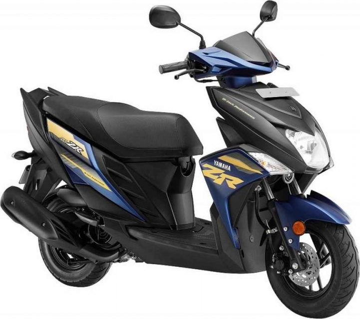 2018 Yamaha Cygnus Ray-ZR Gets Four New Colours India