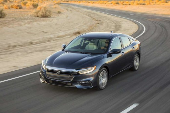 2019 Honda Insight Front