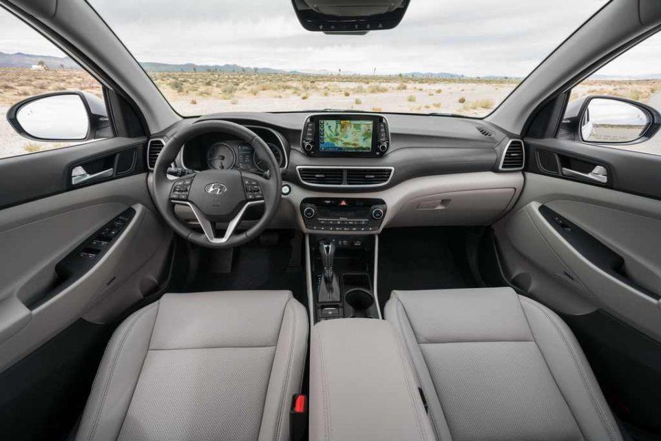 2019 Hyundai Tucson Facelift Interior 1