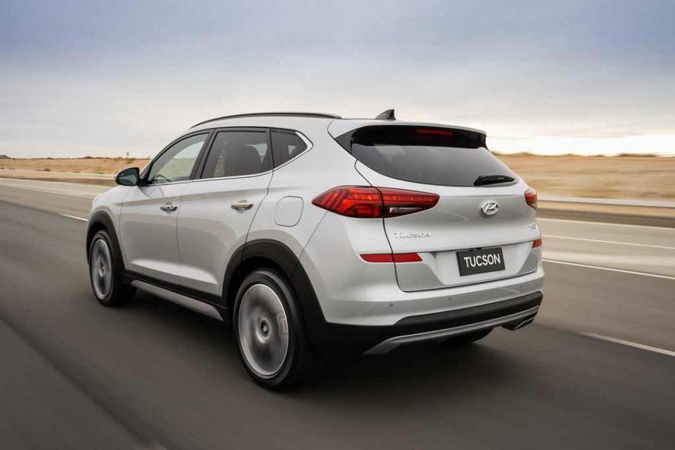 2019 Hyundai Tucson Facelift Rear