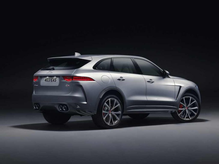 2019 Jaguar F-Pace SVR Rear