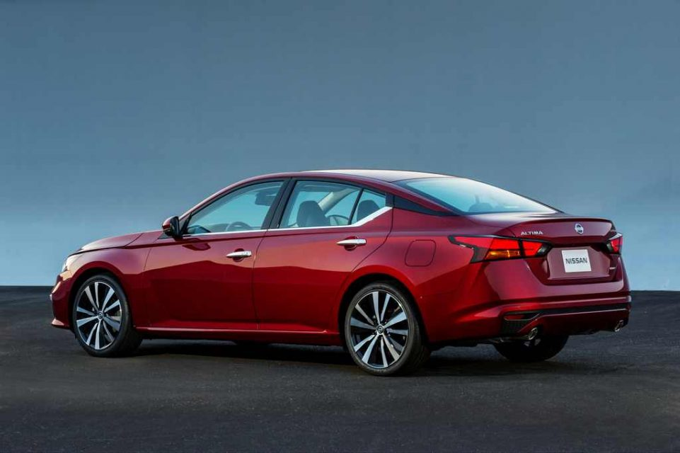 2019 Nissan Altima Rear