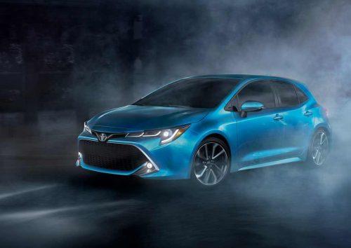 2019 Toyota Corolla hatchback Front