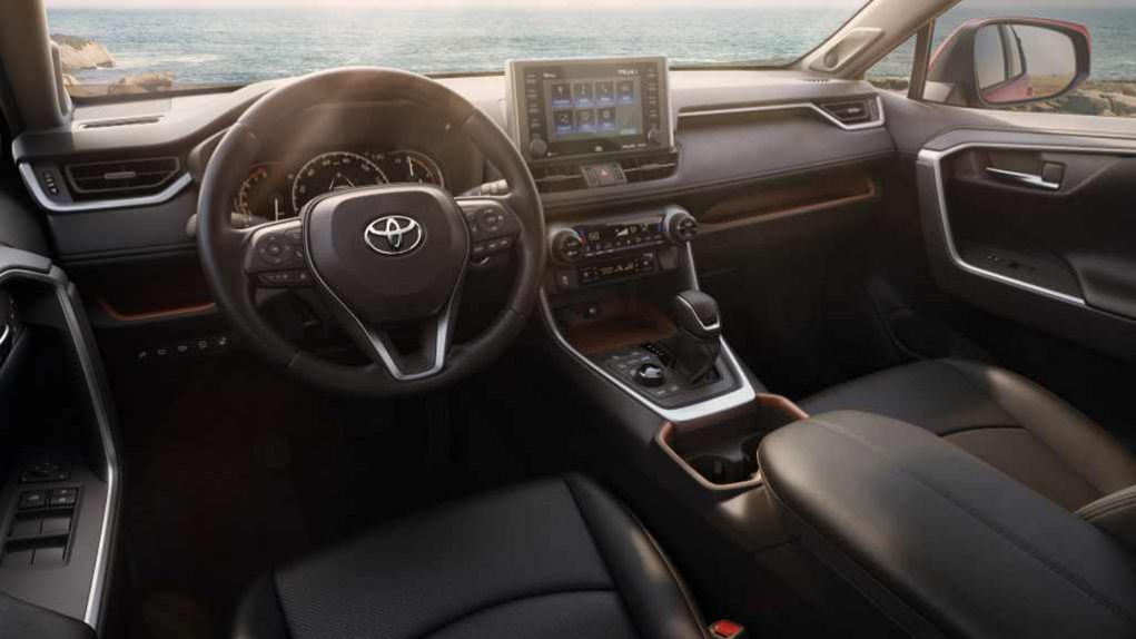 2019 Toyota RAV4 Interior Dashboars