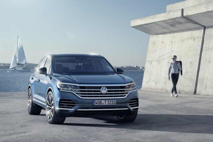 2019 Volkswagen Touareg Revealed Front