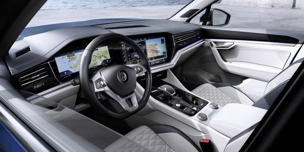 2019 Volkswagen Touareg Revealed Interior 1