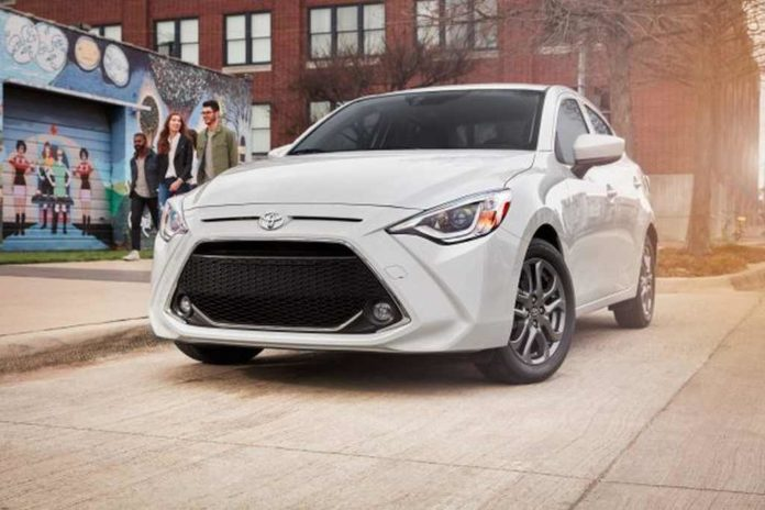 2019_Toyota_Yaris_Sedan (toyota discontinue models us