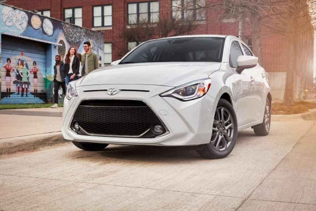 2019_Toyota_Yaris_Sedan (toyota discontinue models us