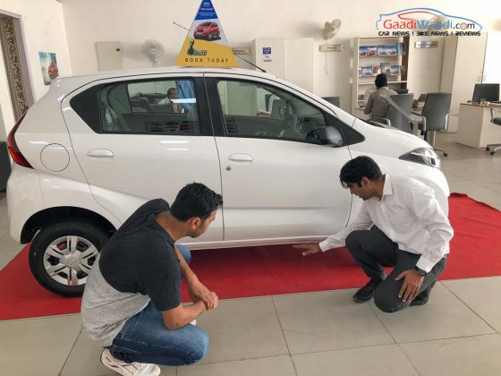 Datsun Automatic Test Drive Challenge1