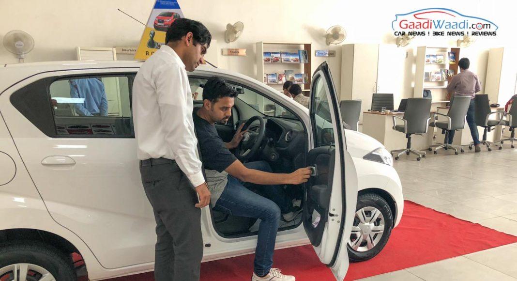 Datsun Automatic Test Drive Challenge3