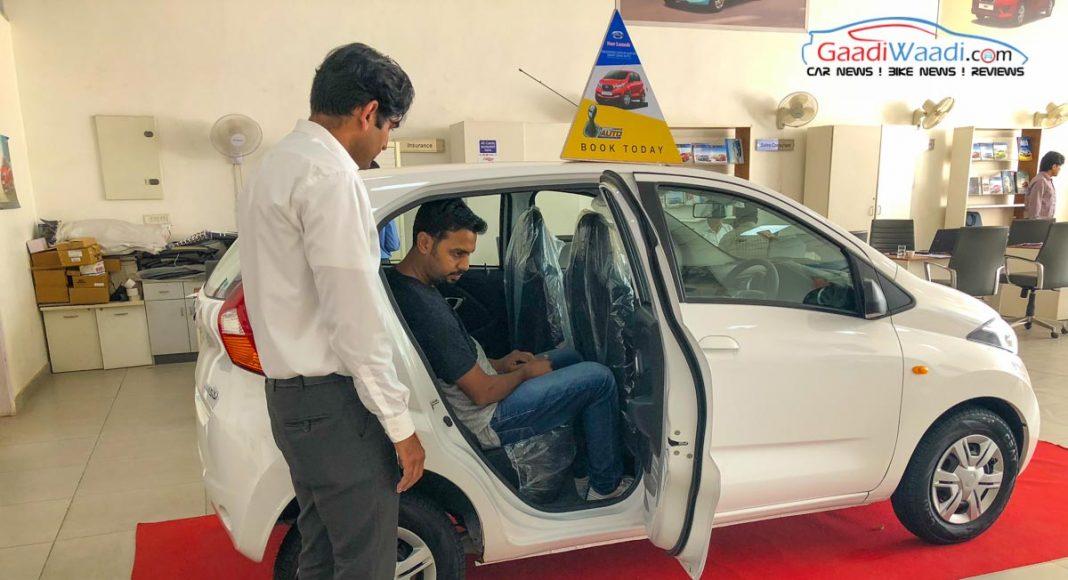 Datsun Automatic Test Drive Challenge4