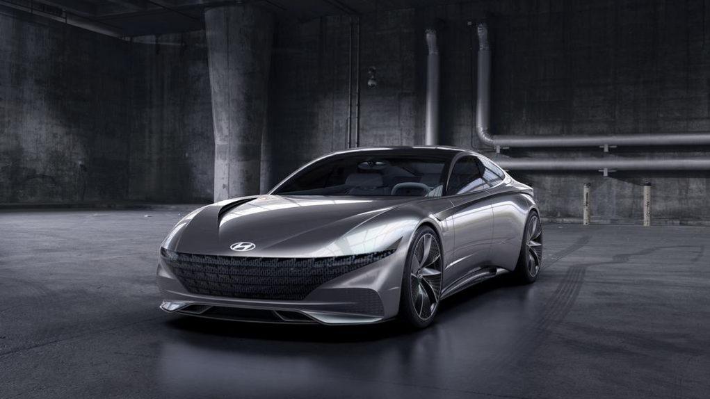 Hyundai Le Fil Rouge Concept Front End