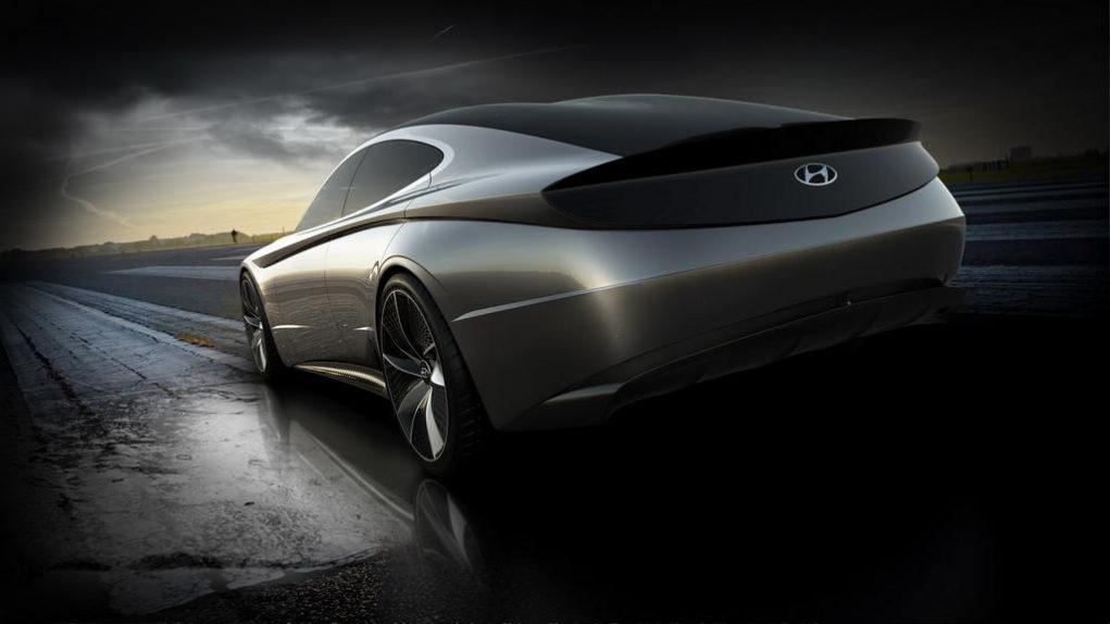 Hyundai Le Fil Rouge Concept Rear