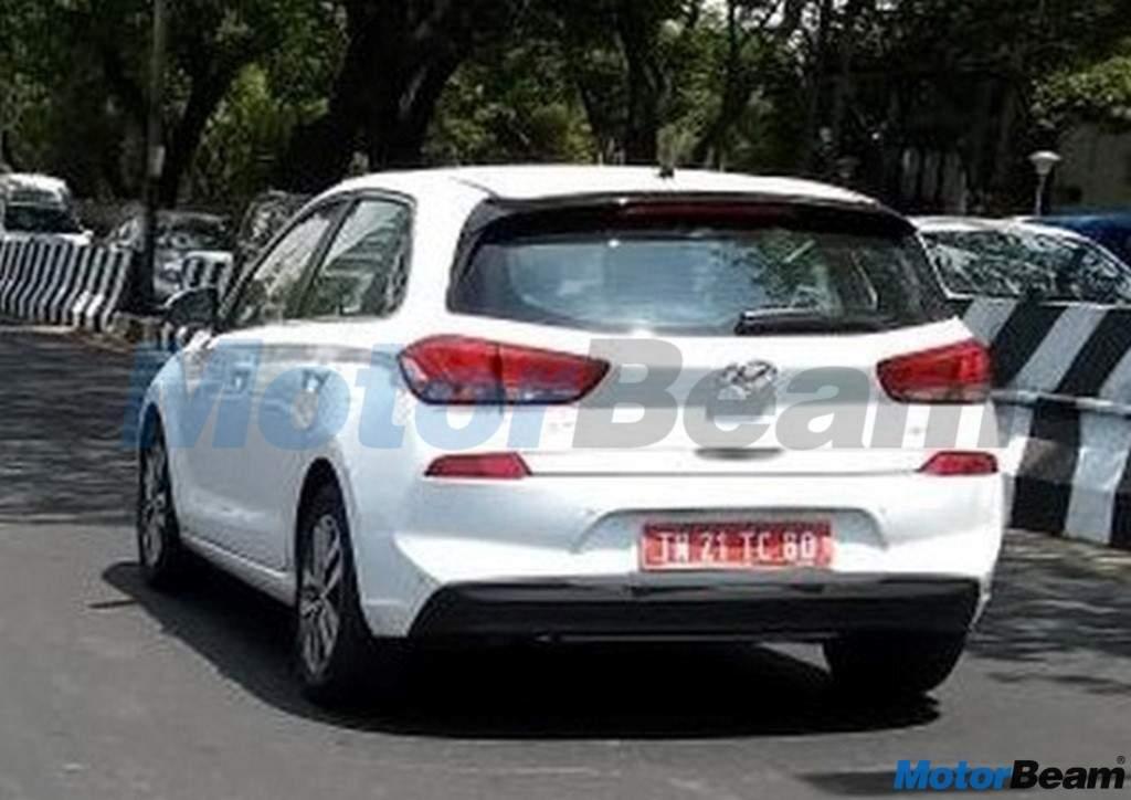 Hyundai i30 hatchback Spied India