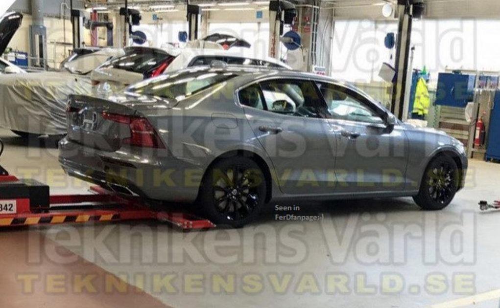 India-Bound 2019 Volvo S60 Sedan Leaked Online With Impressive Styling Bits