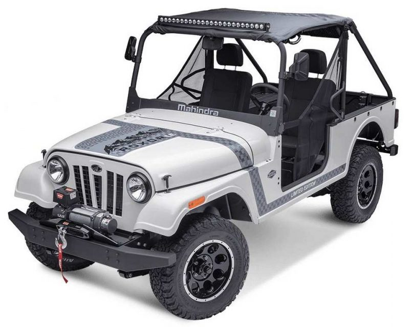 Mahindra Roxor Off-Road SUV 2