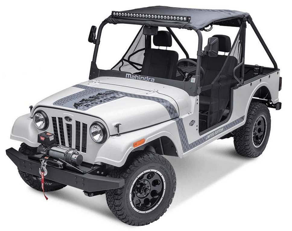 FCA files complaint to prevent Mahindra Roxor sale in US