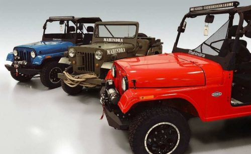 Mahindra Roxor Off-Road SUV Colours and Roof