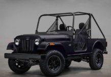 Mahindra Roxor Off-Road SUV Front Fascia