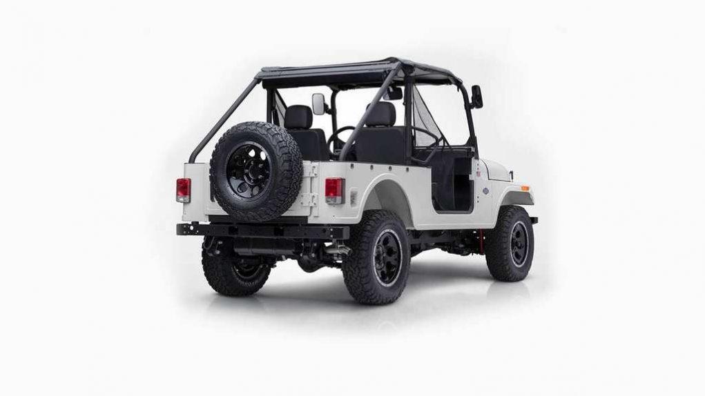Mahindra Roxor Off-Road SUV right rear quarter