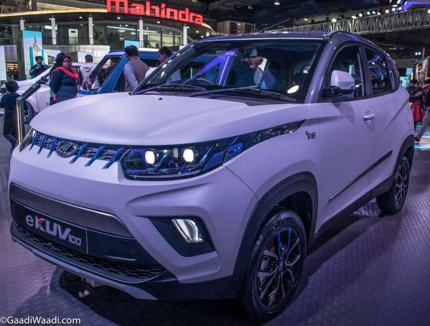 Mahindra e-KUV100 Front