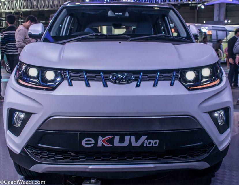 Mahindra e-KUV100 Front Fascia
