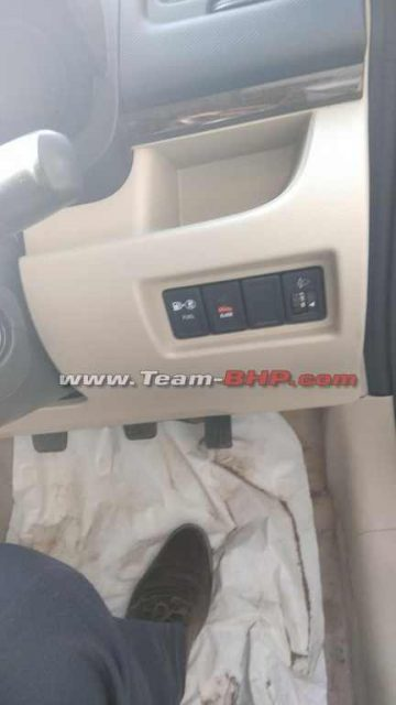 Maruti Suzuki Dzire Tour S CNG Interior 1