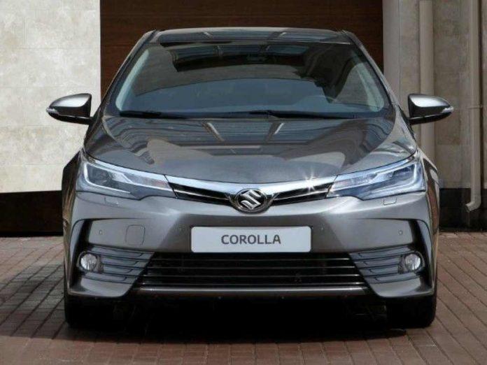 Maruti Suzuki Hybrid Sedan Based On Toyota Corolla (Maruti Suzuki Corolla Altis)