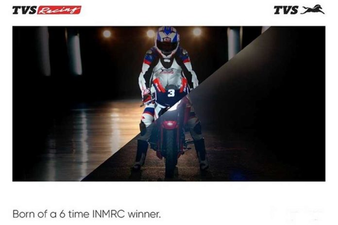 New TVS Apache RTR 160 Teased Officially; Launching Tomorrow