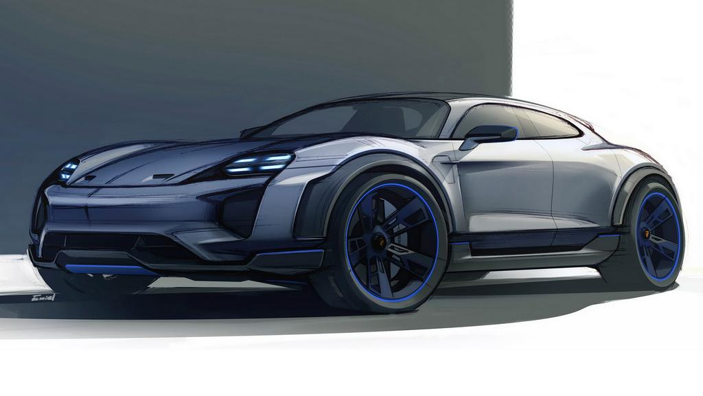 Porsche Mission E Cross Turismo Concept Signals A Future Electric Crossover