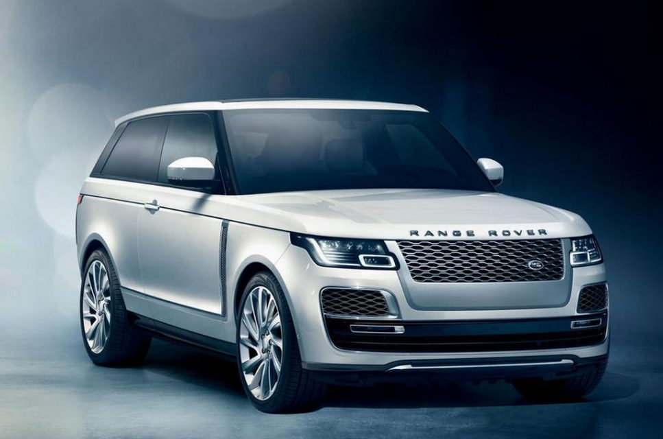 Range Rover SV Coupé Front 1