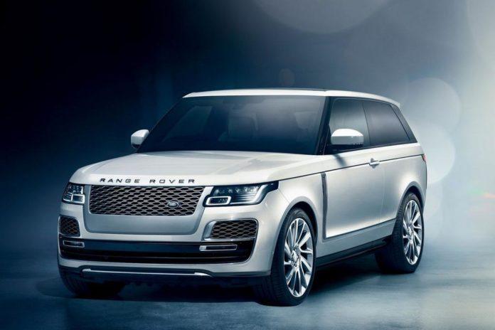 Range Rover SV Coupé Front