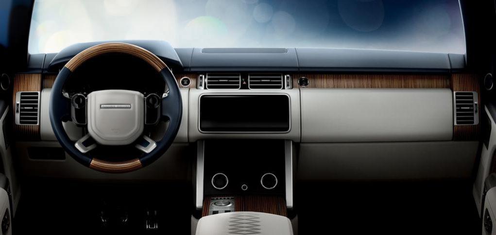 Range Rover SV Coupé Interior