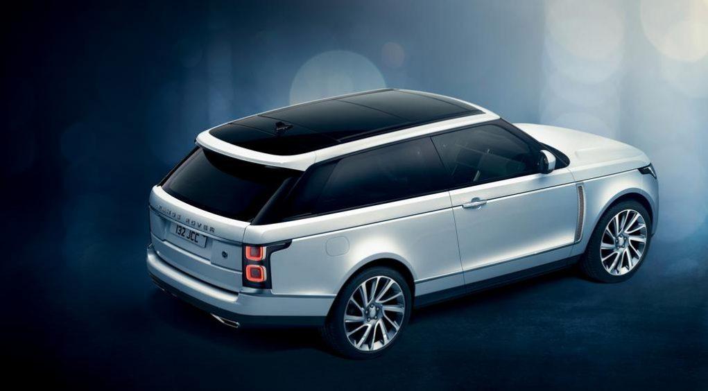 Range Rover SV Coupé Rear