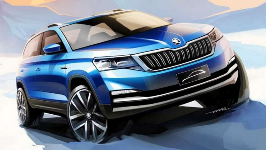 Skoda Kamiq Crossover Teased Ahead Of Beijing Debut