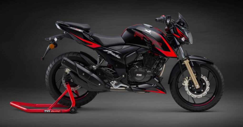 TVS Apache RTR 200 4V Race Edition 2.0 Launched In India - Price, Engine, Specs, Mileage, Features, Booking