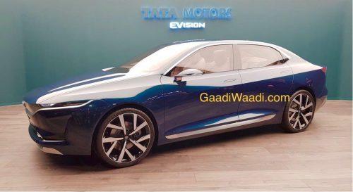 Tata EVision Concept At 2018 Geneva Motor Show