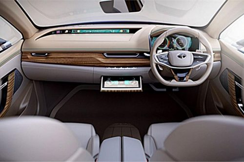 Tata EVision Concept Interior And Features