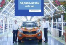Tata Nexon Reaches 50,000 Production Milestone In India