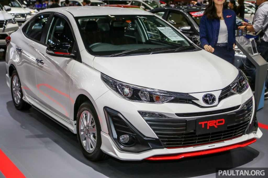 India Bound Toyota Yaris Sedan Gets Trd Sport Kit In Thailand