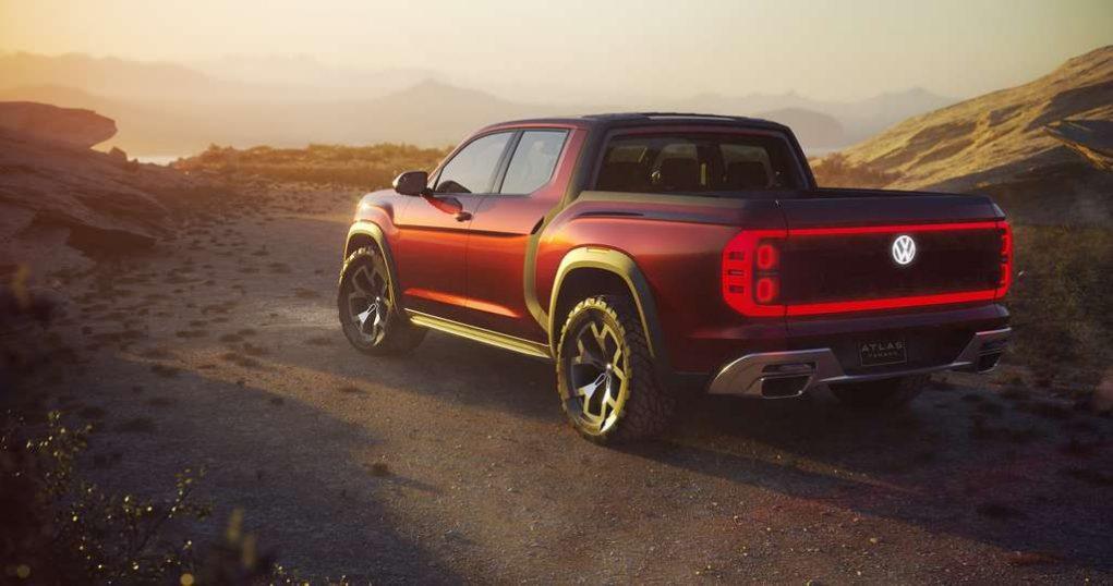Volkswagen Atlas Tanoak Pickup Concept 1