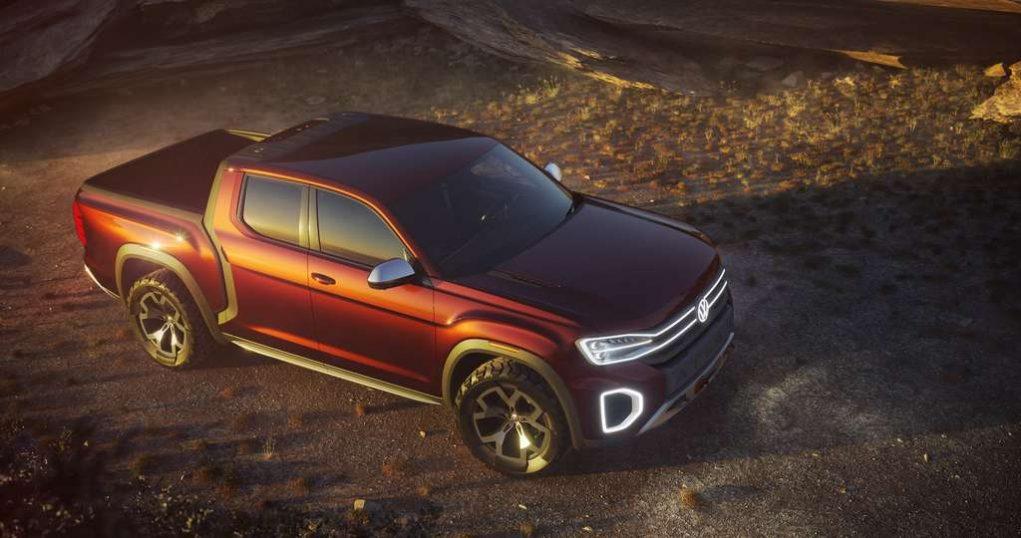 Volkswagen Atlas Tanoak Pickup Concept 2
