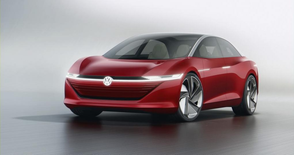 Volkswagen ID Vizzion Concept Front View