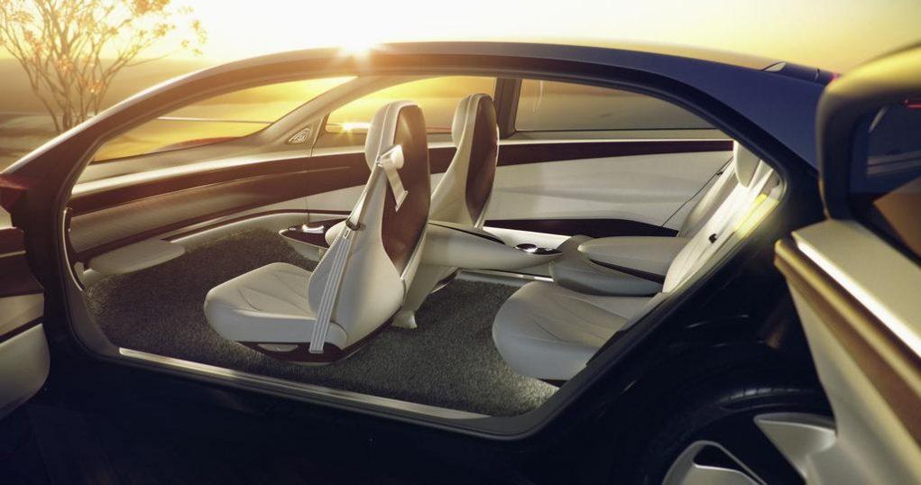 Volkswagen ID Vizzion Concept Interior Door Opening